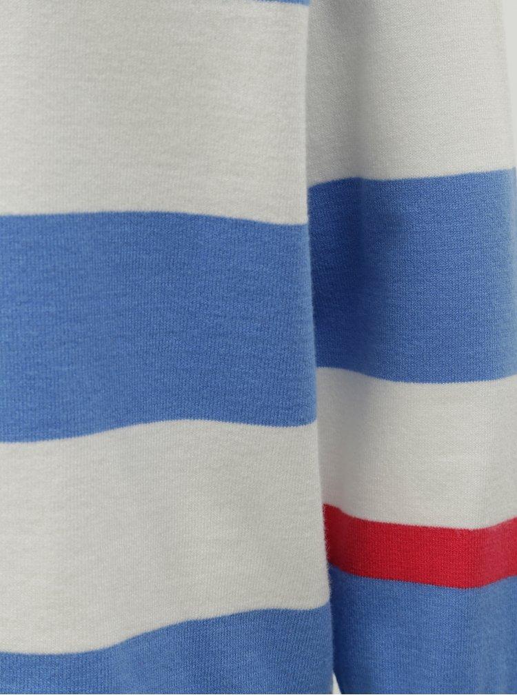 Pulover alb-albastru in dungi ONLY Mette