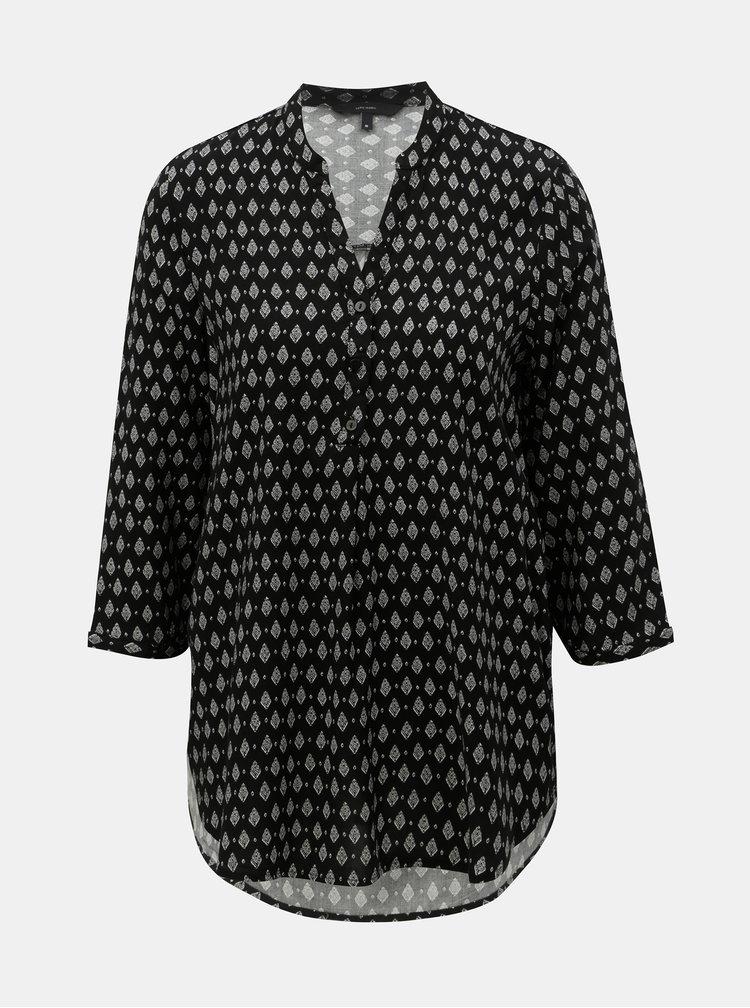 Bluza neagra cu model VERO MODA Simply