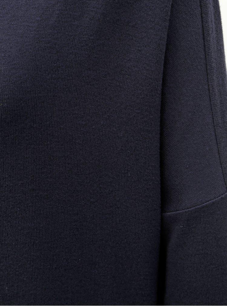 Tmavomodré dlhé basic tričko VERO MODA Paya