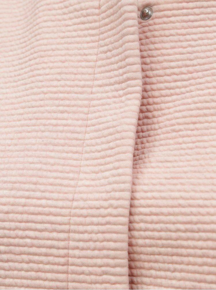 Pardesiu roz lejer cu striatii ONLY CARMACOMA Toronto