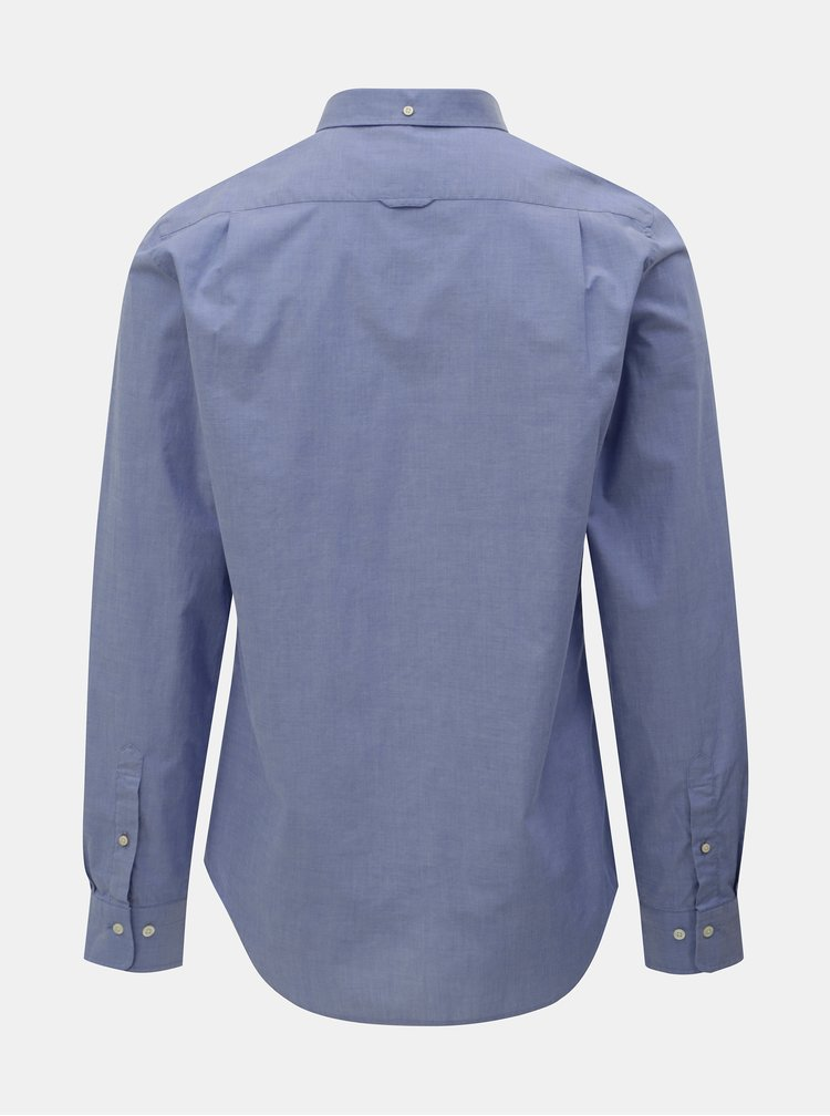 Modrá pánska slim fit košeľa GANT