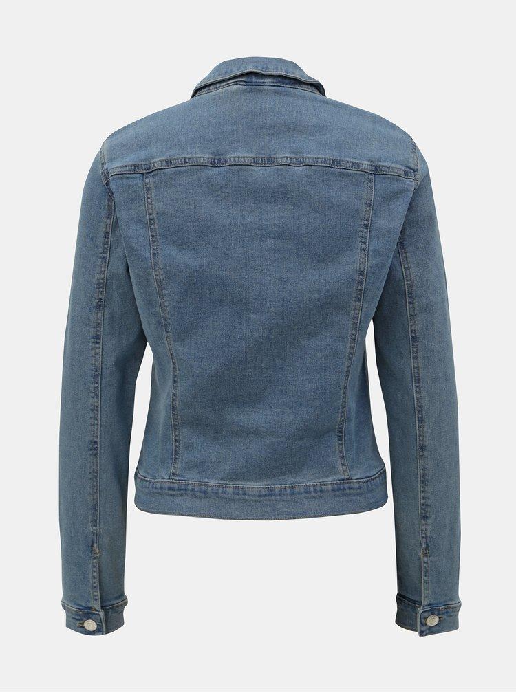 Jacheta albastra din denim VERO MODA Hot Soya