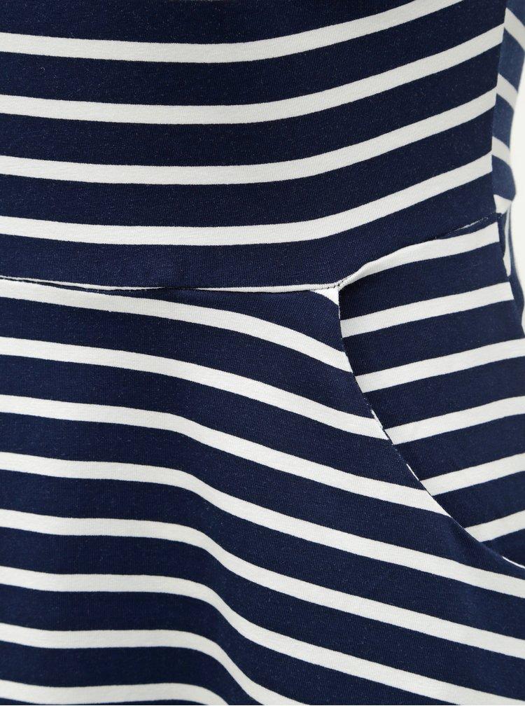 Rochie alb-albastru in dungi Dorothy Perkins