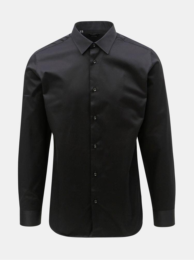 Černá formální slim fit košile Selected Homme Pen-Pelle