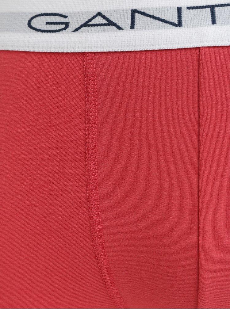 Balenie troch boxeriek v modrej a červenej farbe GANT