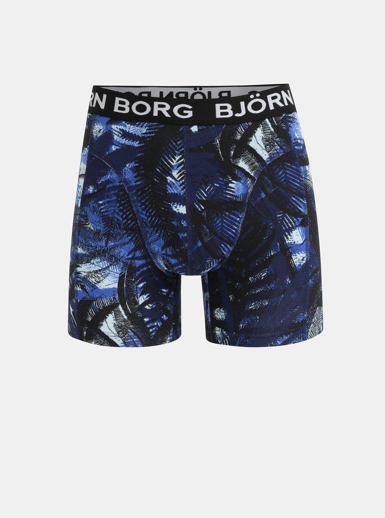 Sada dvou boxerek v černé a světle modré barvě Björn Borg