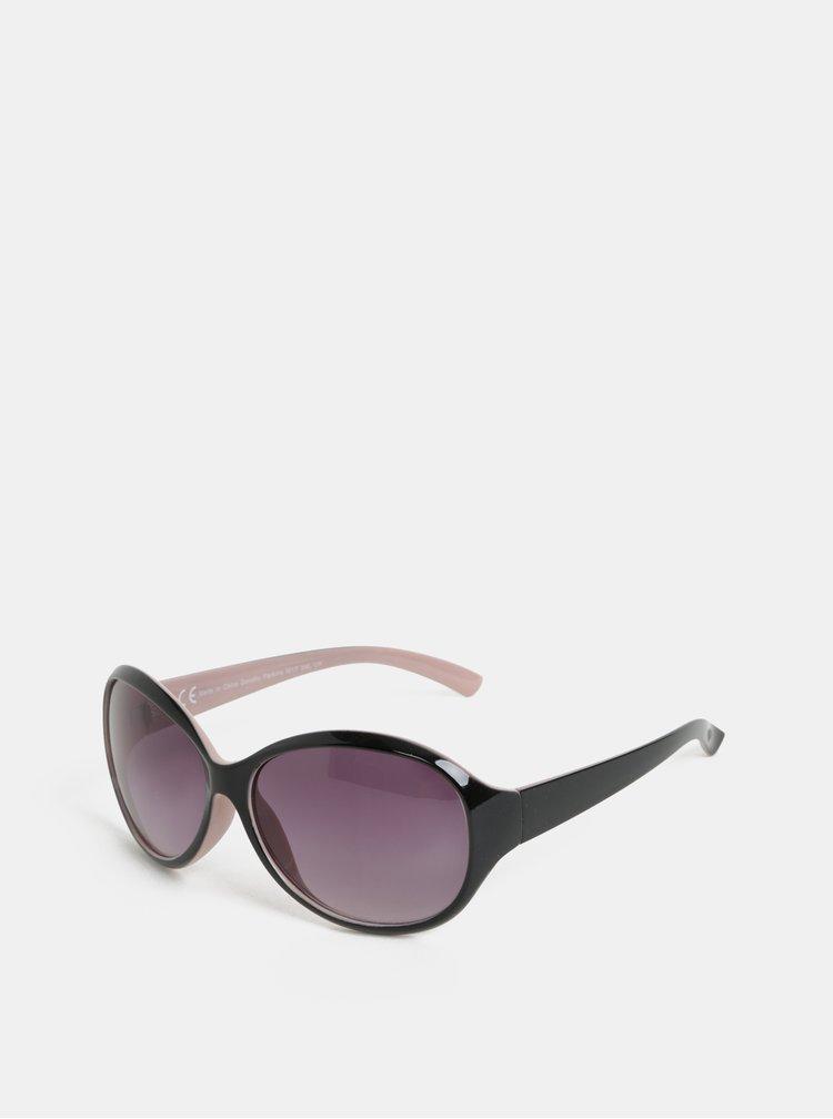 Růžovo-černé sluneční brýle Dorothy Perkins