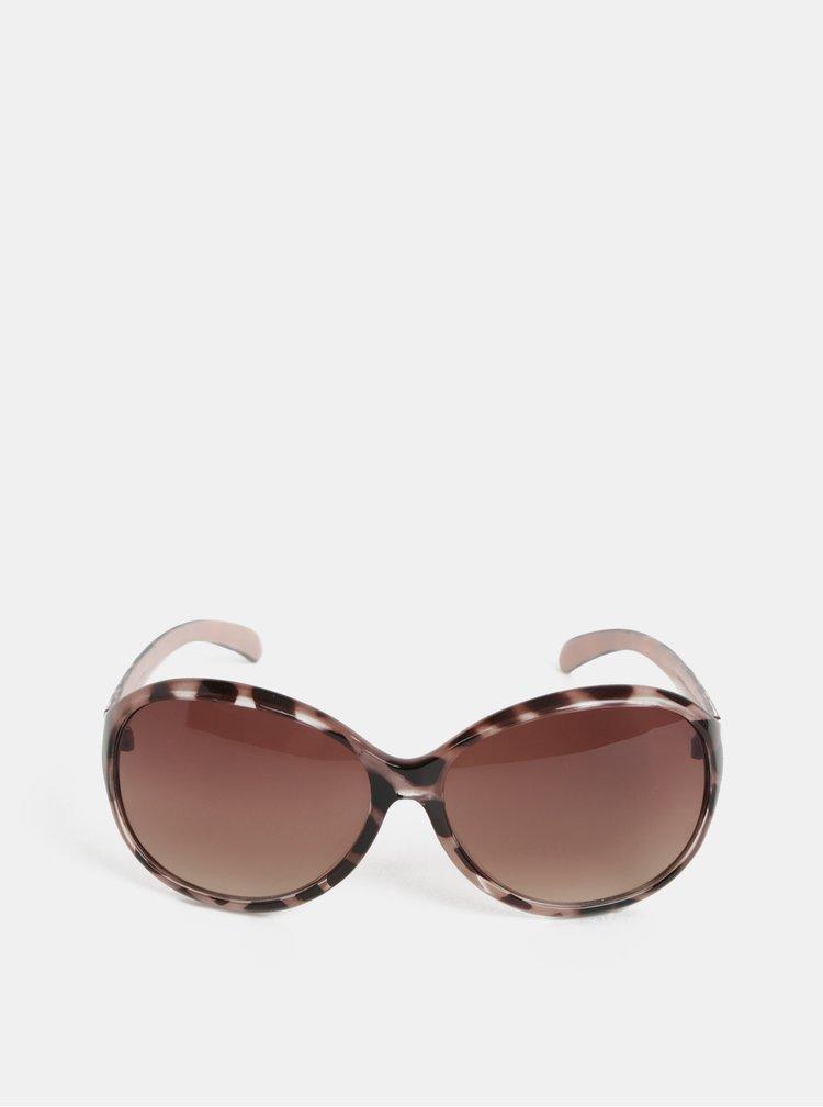 Černo-růžové sluneční brýle s gepardím vzorem Dorothy Perkins