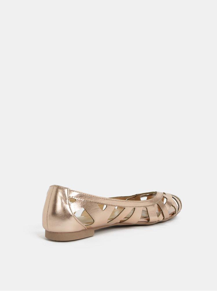Balerini roz-auriu Dorothy Perkins