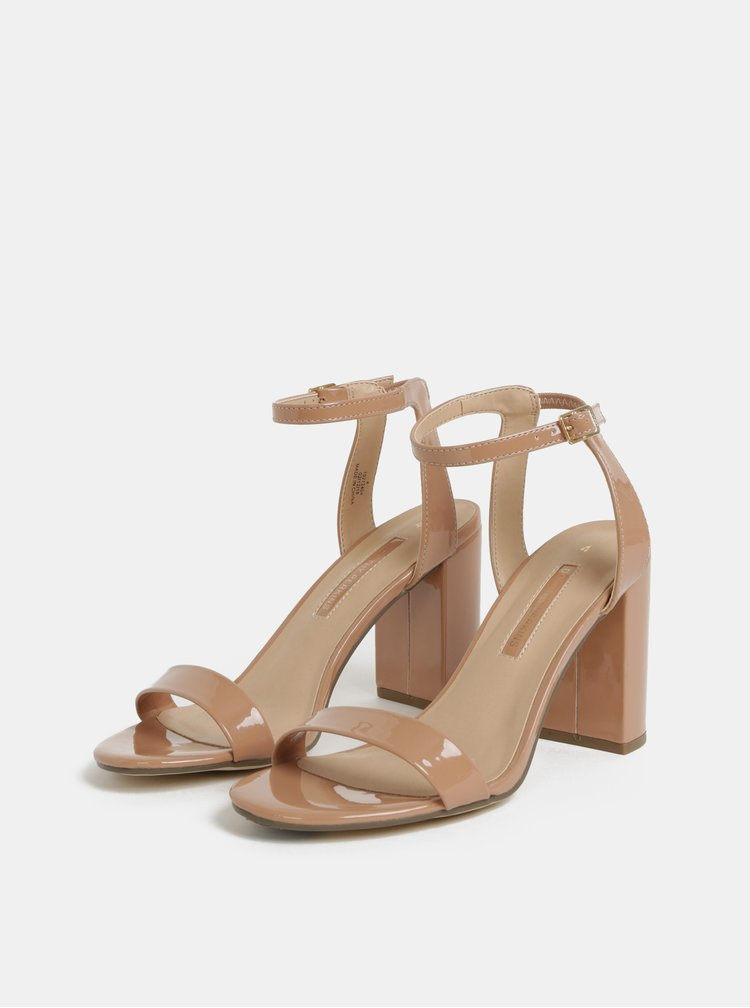 Béžové sandálky Dorothy Perkins