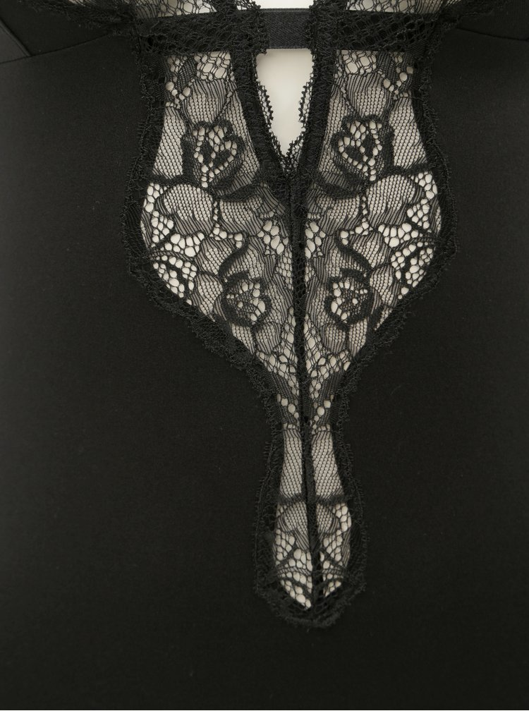 Body negru cu dantela Maidenform