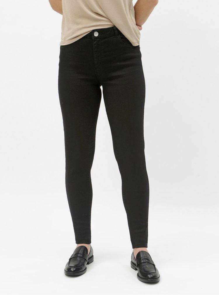 Černé skinny fit džíny Dorothy Perkins Tall