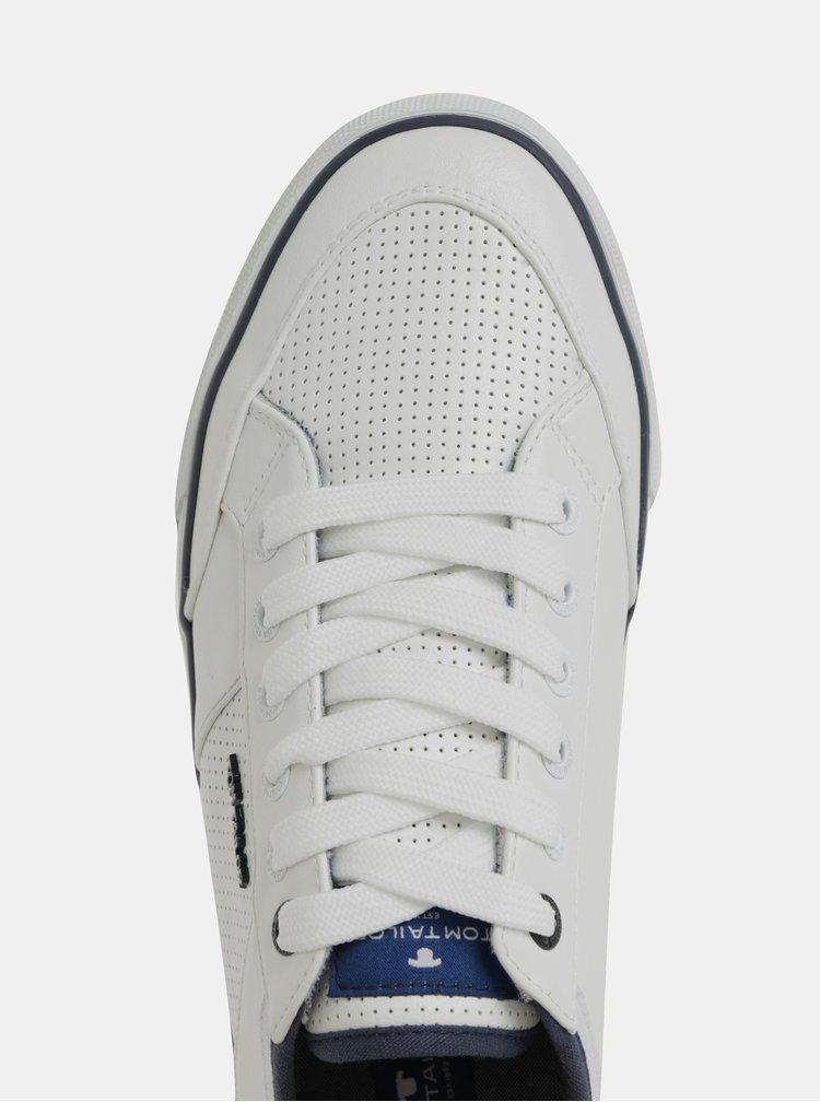 Biele pánske tenisky Tom Tailor