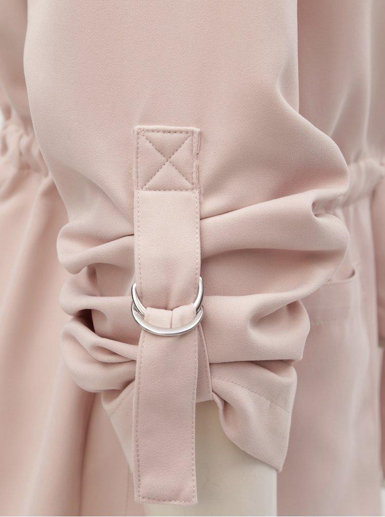 Pardesiu roz deschis scurt TALLY WEiJL Pedarrell