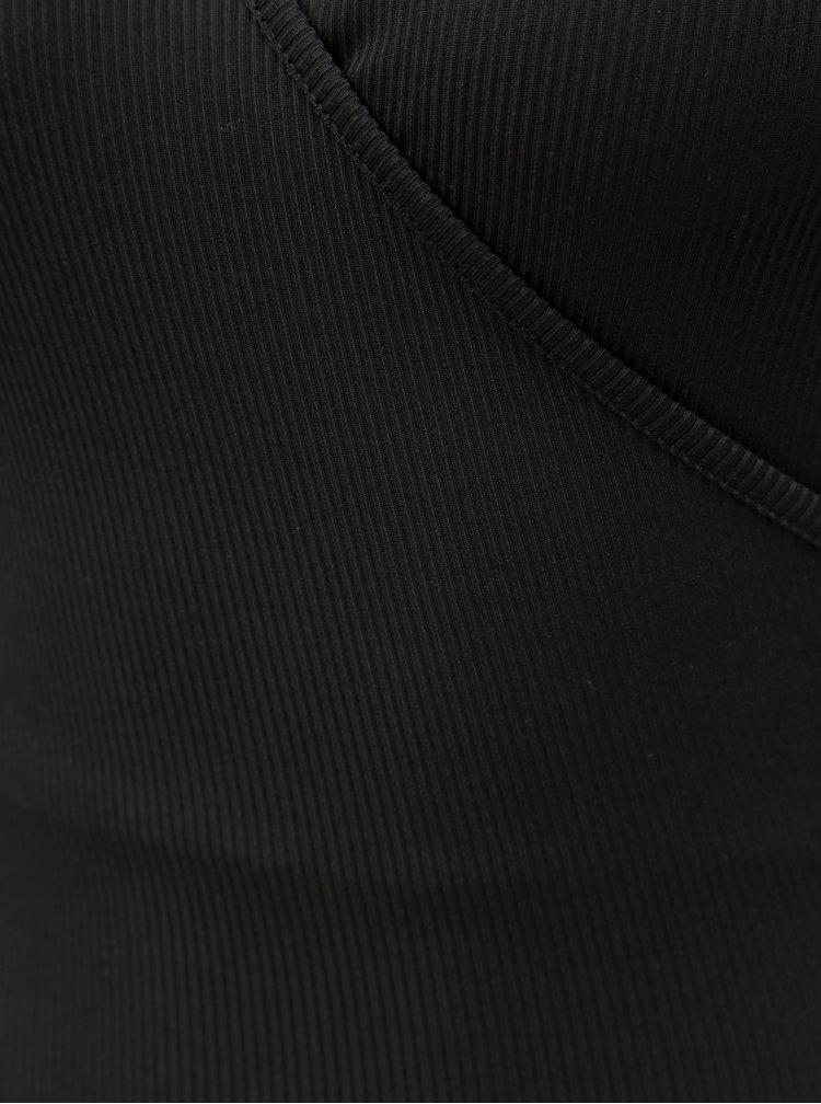Body negru cu striatii TALLY WEiJL Patwisty