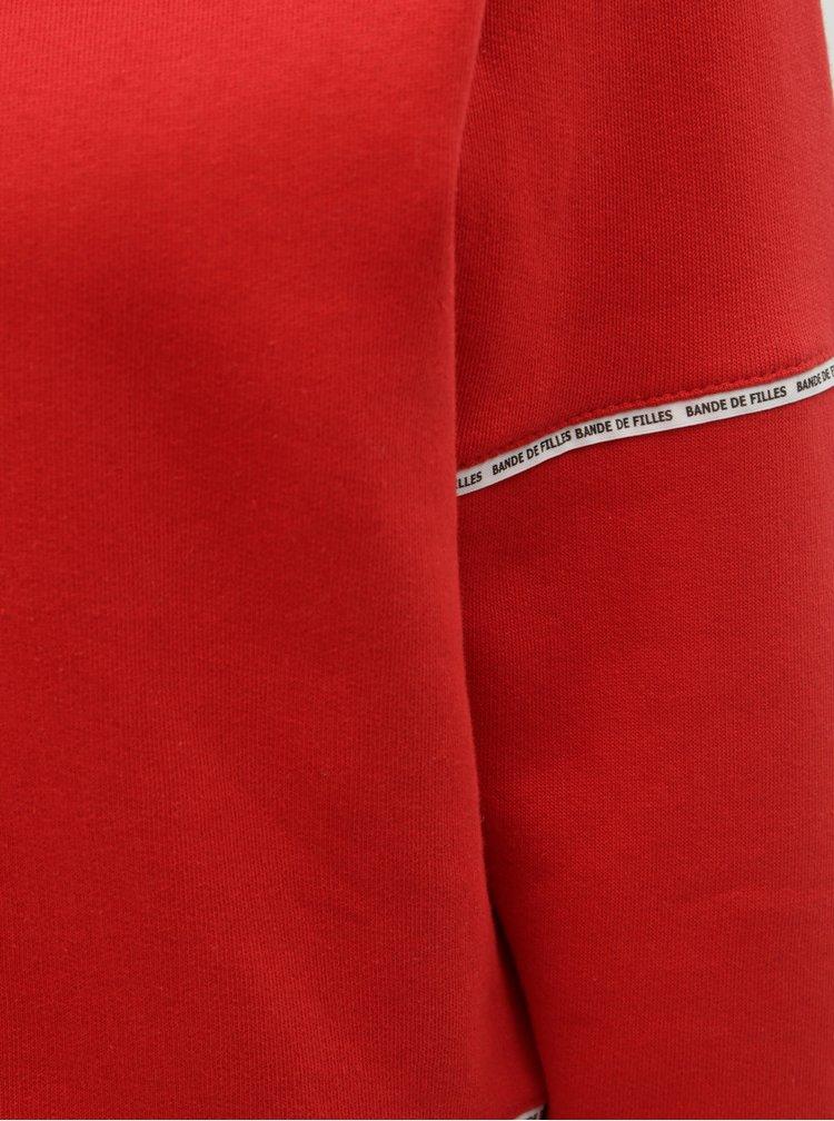 Bluza sport rosie scurta TALLY WEiJL Sup