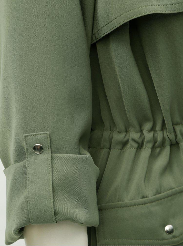 Khaki lehký kabát TALLY WEiJL Dench
