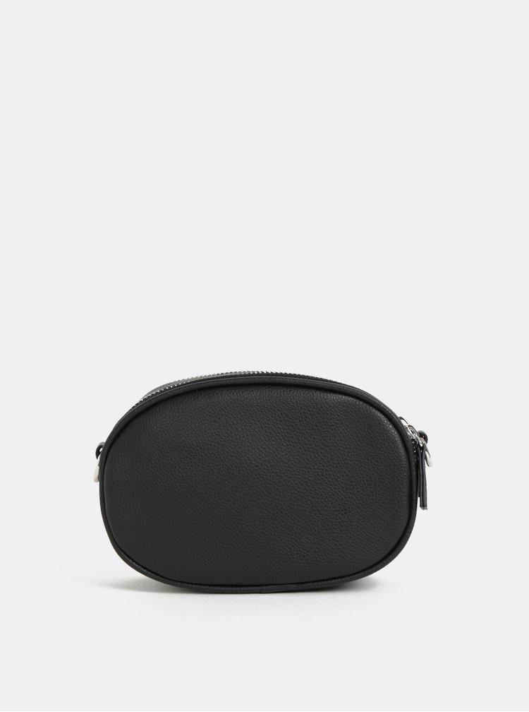 Černá crossbody kabelka s vyměnitelnými popruhy TALLY WEiJL Double