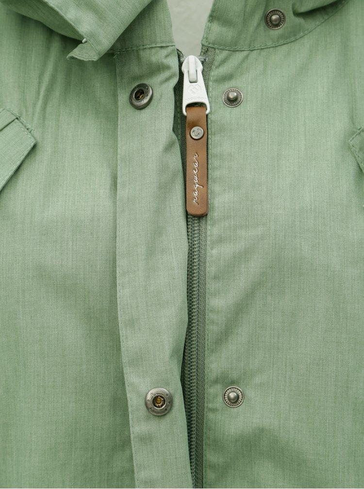 Jacheta parka verde deschis de dama Ragwear Cranchy