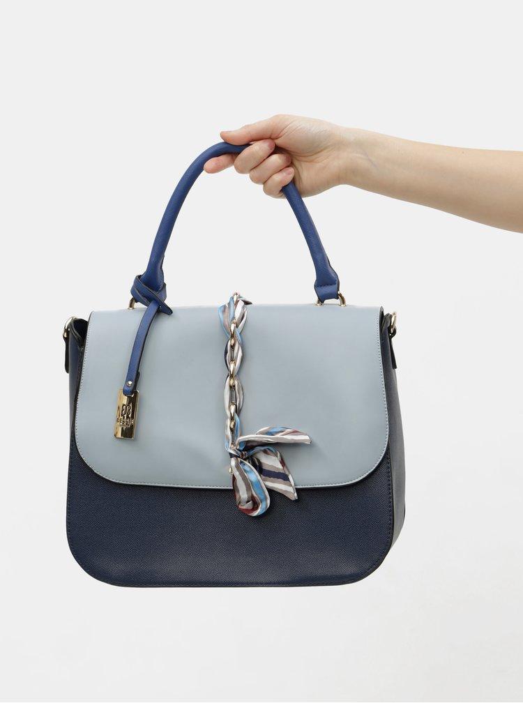 Modrá kabelka s mašlí Bessie London