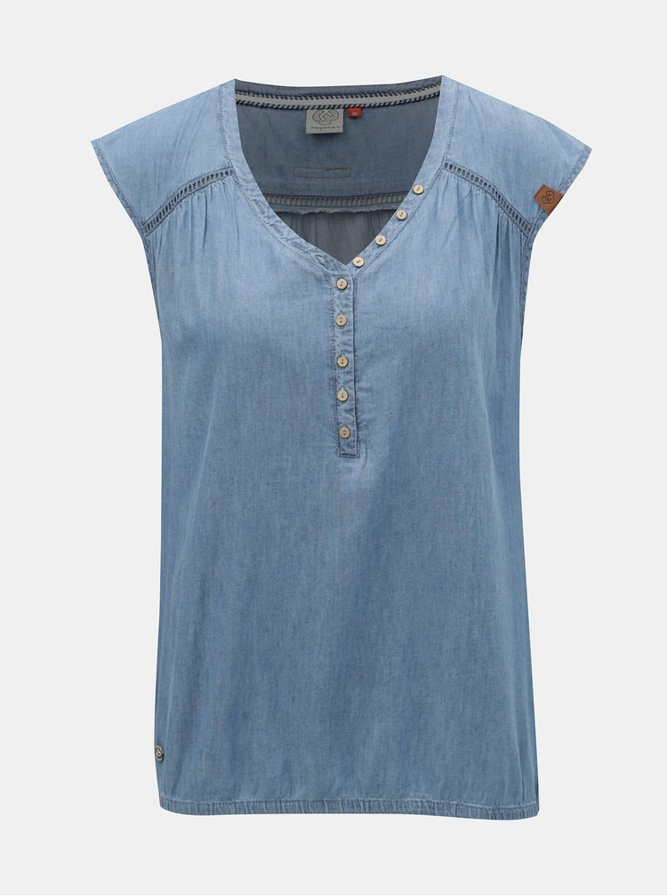 Top albastru Ragwear Salty Denim