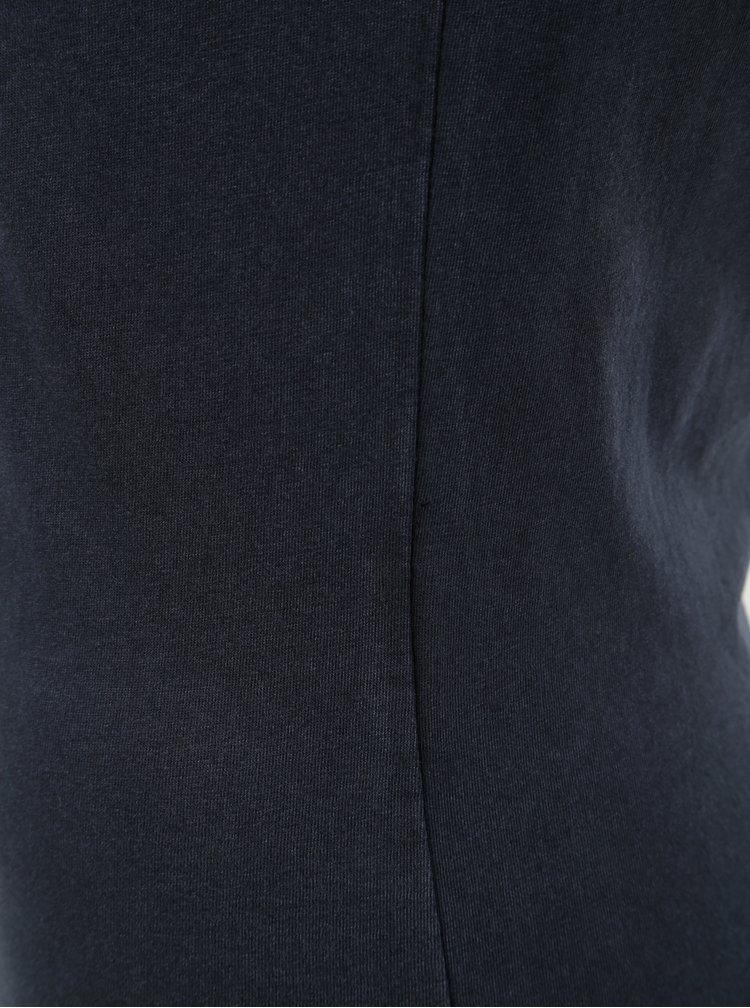 Tmavomodré basic tričko ONLY Cate