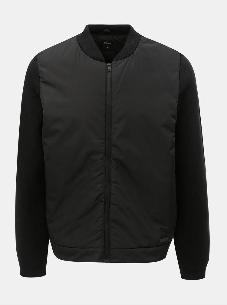 Čierny bomber Burton Menswear London