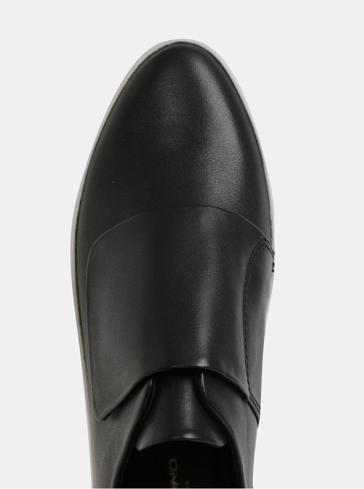 Čierne dámske kožené tenisky Vagabond Camille