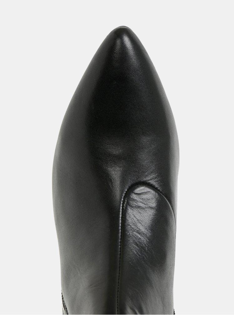 Botine negre de dama din piele Vagabond Mya