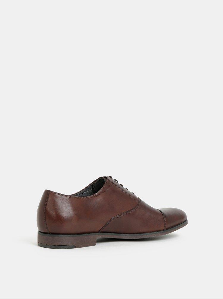 Pantofi barbatesti maro inchis din piele Vagabond Linhope