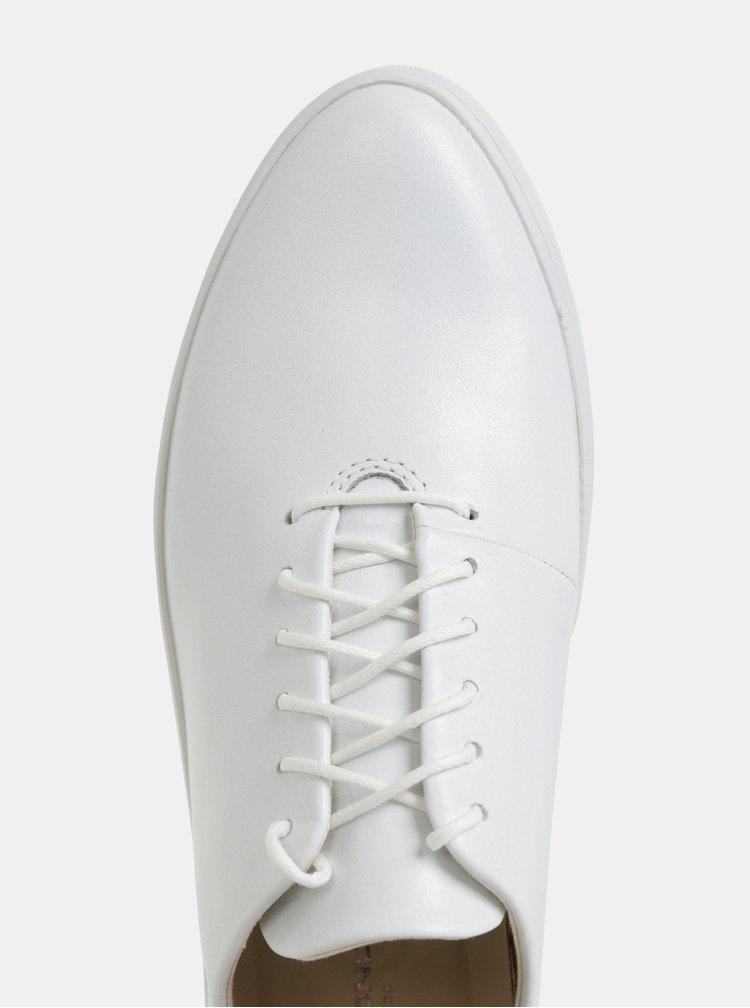 Bílé dámské kožené tenisky Vagabond Camille