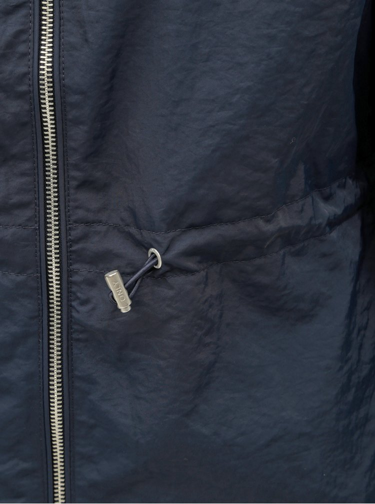 Jacheta albastru inchis lejera ONLY Cornelia