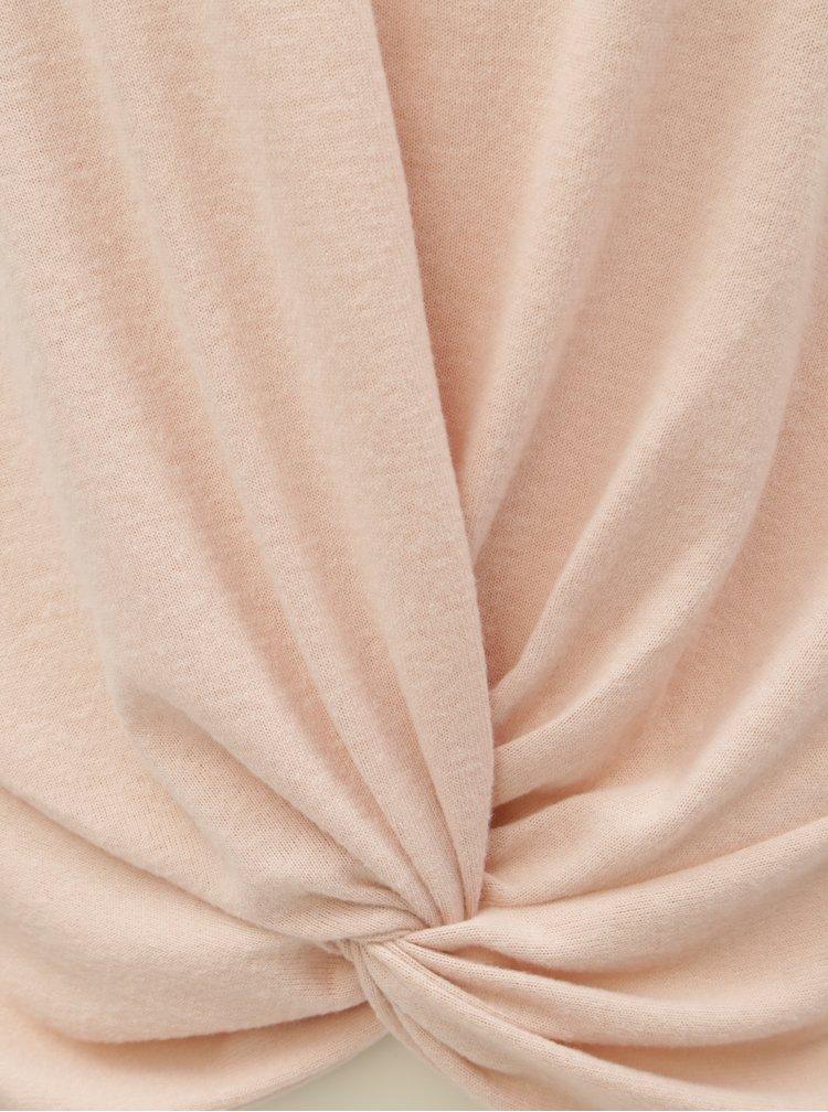 Starorůžový volný svetr ONLY Alberta