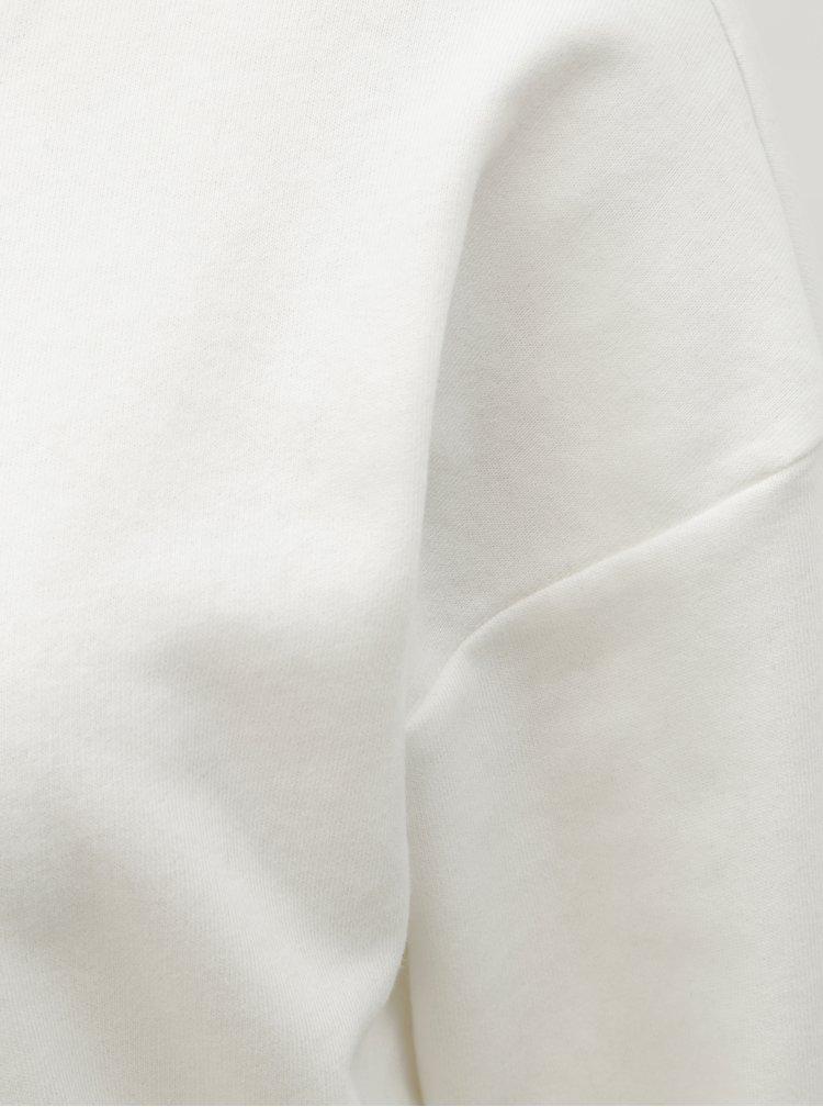 Bluza sport alba cu decupaj la spate ONLY Marguerite