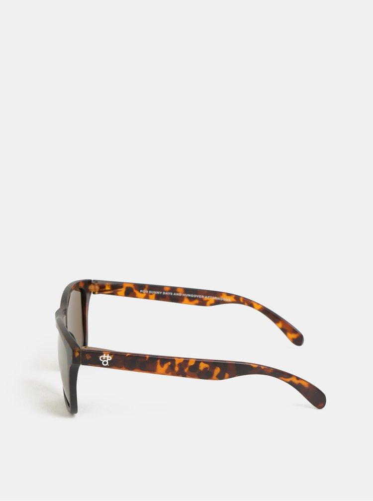 Ochelari de soare maro cu model CHPO Bodhi