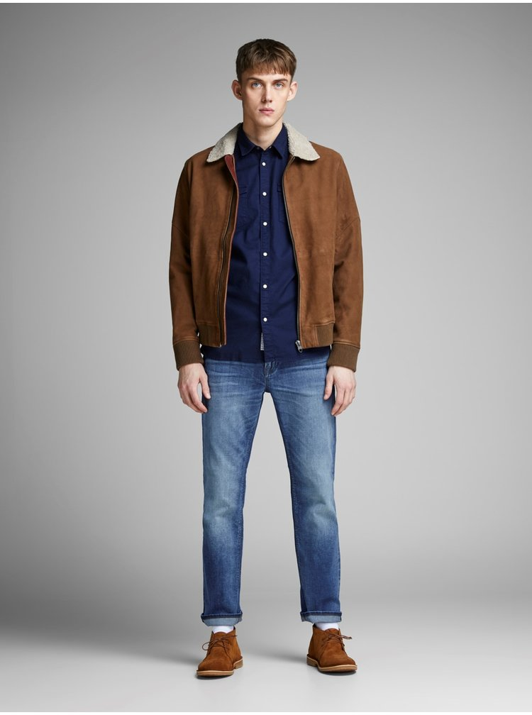 Modré regular rifle Jack & Jones Clark