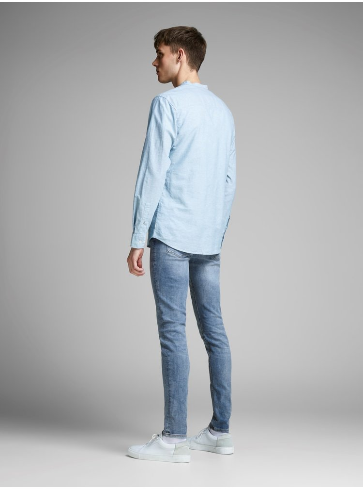 Svetlomodré skinny rifle Jack & Jones Liam