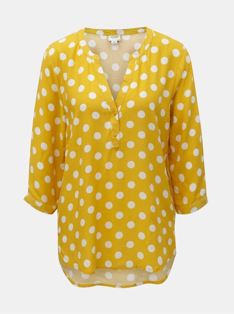Bluza galbena cu buline Jacqueline de Yong Star