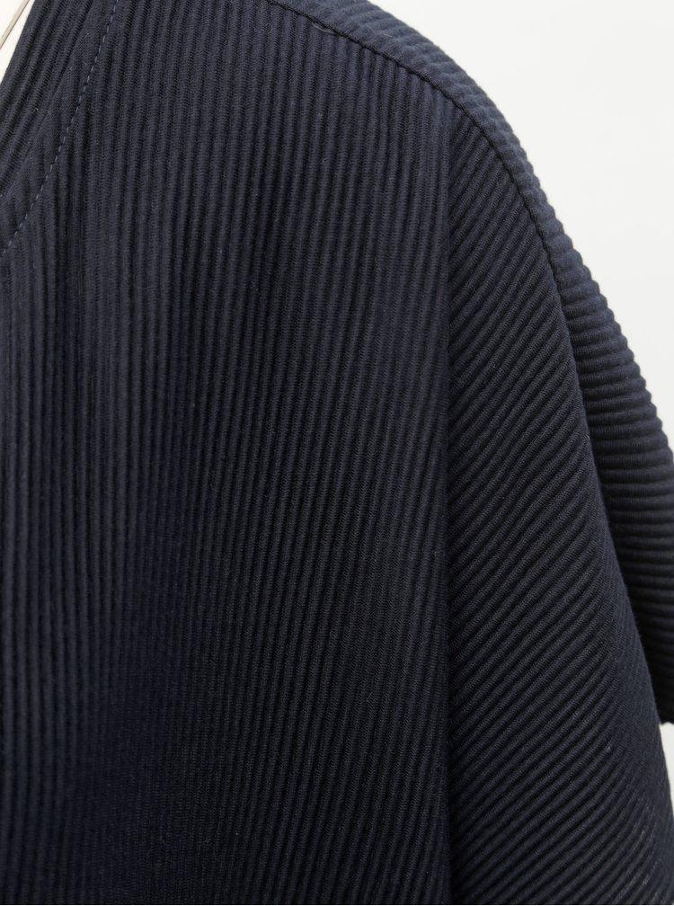 Rochie maxi albastru inchis cu striatii Jacqueline de Yong Rilla