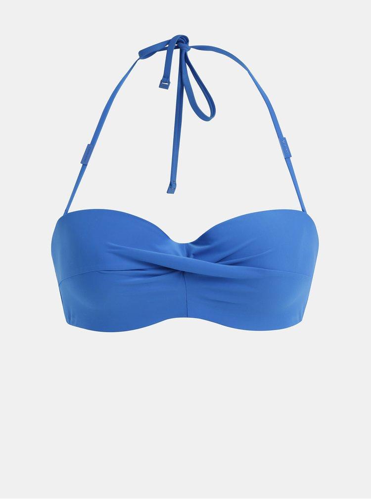 Modrý horní díl plavek Calvin Klein Underwear