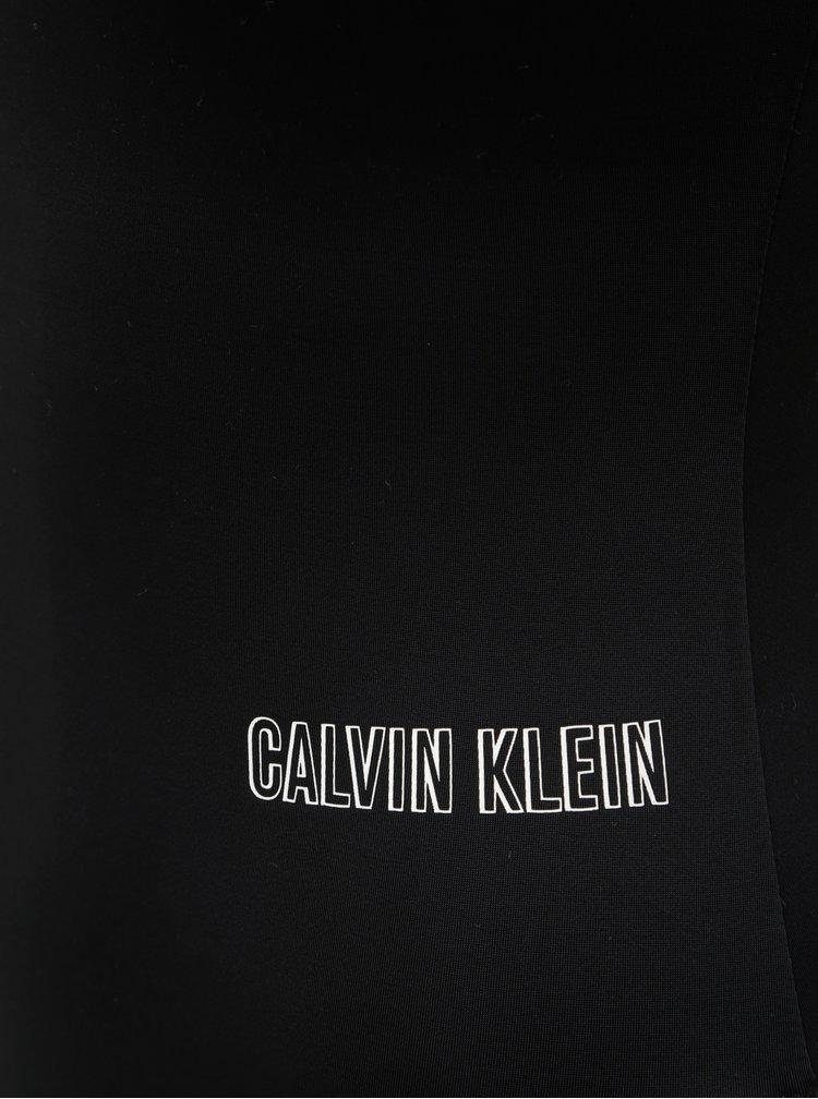 Černé jednodílné plavky Calvin Klein Underwear