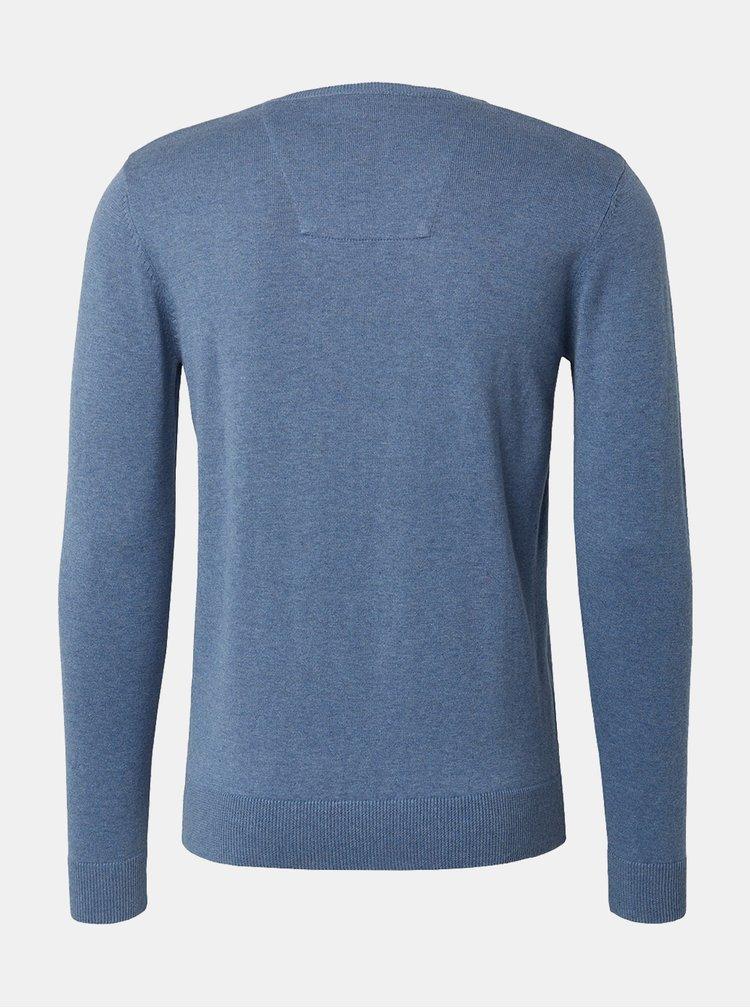Modrý pánsky sveter Tom Tailor