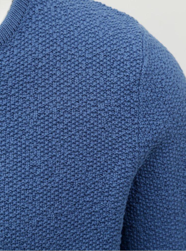 Modrý svetr Selected Homme Clive