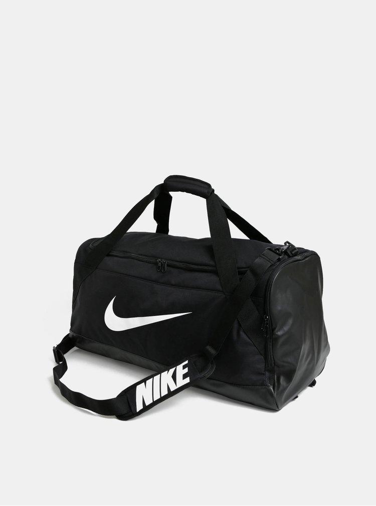 Geanta sport neagra cu imprimeu Nike 81 l
