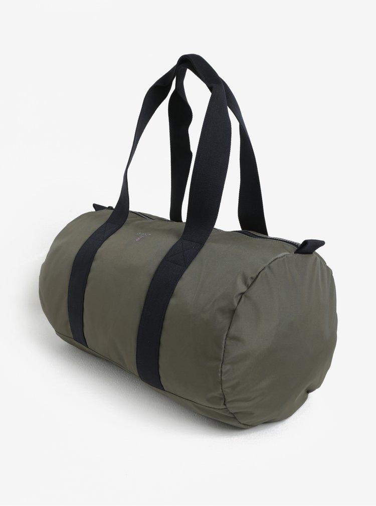 Kaki pánska cestovná taška GANT