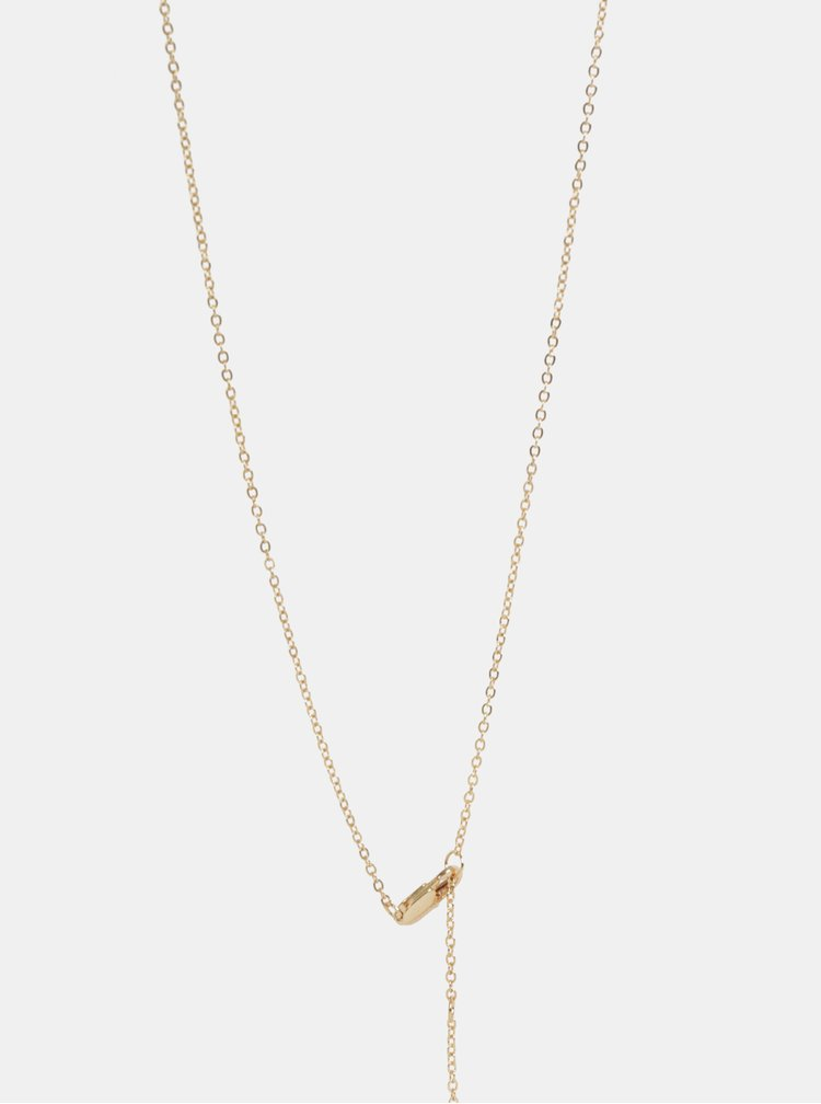 Colier auriu Pieces Samira