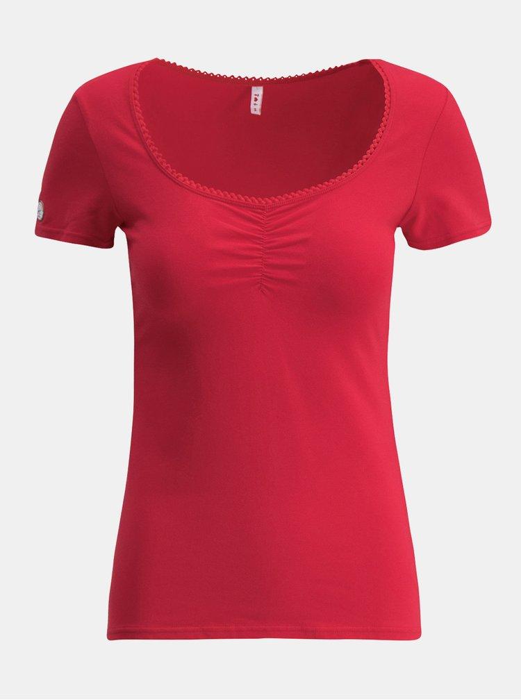 Červené tričko Blutsgeschwister Logo