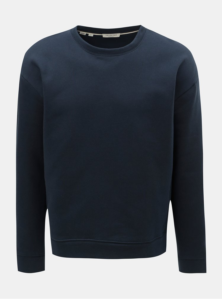 Bluza sport albastru inchis Selected Homme Patt