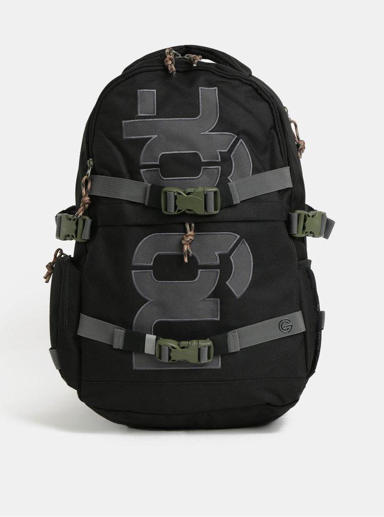 Černý batoh s odnímatelným bederním popruhem NUGGET Arbiter 30 l