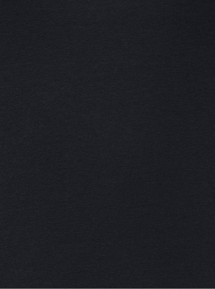 Tricou basic albastru inchis Jacqueline de Yong Ava